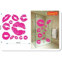 Adesivo Decorativo Para Box Banheiro Blindex * Frete Grátis