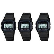 Casio F-91 Digital Alarme Cronômetro Serie Prata Ou Ouro