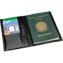 Carteira Porta Documentos Passaporte Em Couro 5540 Incorpast