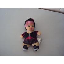 Miniatura Boneca Fofolete Dark Fashion Natasha Loba Estrela