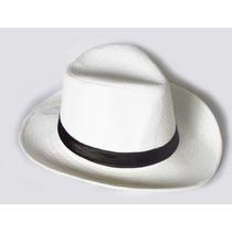 Chapéu Estilo Panamá Modelo Social Clássico ( Unisex )