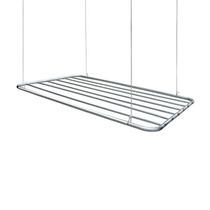 Varal De Teto Em Alumínio Até 6m De Roupas 100 X 56cm