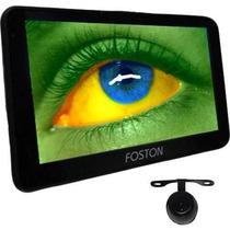 Gps Foston 3d717 Tv Digital Fs 717 3d Automotivo Camera Re