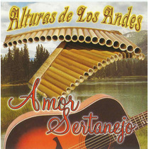 Cd Alturas De Los Andes - Amor Sertanejo *