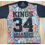 Camisa Kings 34 Sneakers Floral (colorida) Importada Origina