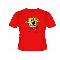 Camiseta Baby Look Desenho Bob Esponja - Feminino