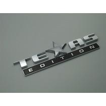 Emblema Texas Edition Americano Ford F250 Ranger Dodge Ram