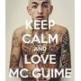 Caderno Keep Calm Mc Guimê 16 Materia