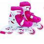 Patins Roller Infantil Rosa - P (31 Ao 34) Mor Regulável