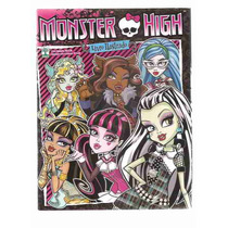 Ml-2174 Album De Figurinhas Monster High (incompleto)