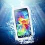Capa Case Waterproof Galaxy S3 S4 Prova D`água Poeira Branca