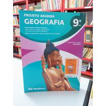 Livro Geografia Projeto Araribá 9º Ano Editora Moderna
