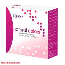 Lentes De Contato Coloridas Natural Colors - Com Ou Sem Grau