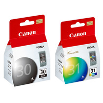 Kit Cartucho Canon Pg30 + Cl31 Mp140 Ip1900 Ip1800 Mp190