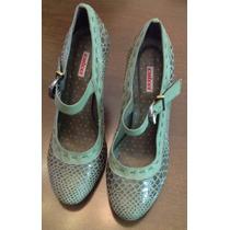 Sapato Feminino Verde - Colcci - Tam: 38 - C.564