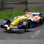Carro De Corrida F1 Renault Esc 1/24 Luz E Som Fórmula Um
