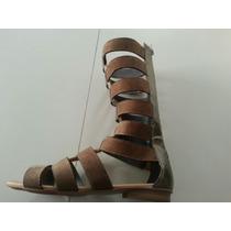 Sandalia Rasteirinha Gladiadora Ref 304 Conf Disposição N