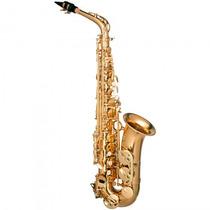 Saxofone Alto Hofma Hsa-400 Glq Mib Dourado - Refinado
