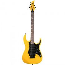 Guitarra Memphis Mg-330 An Strato Floyd Amarela - Refinado