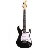 Guitarra Memphis Mg-32 Pf Strato Preta Fosca - Refinado