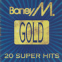 Cd Boney M - Gold (20 Super Hits) *