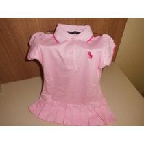 Vestido Rosa Marca Raph Loren Tamanho M 100%algodao