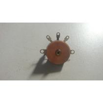 Potenciômetro S/eixo Com Chave Suporte Paraf /radio Portatil