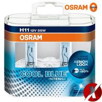 Lâmpada Osram Cool Blue Intense H11 + Nfe + Frete Gratis
