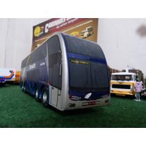 Miniatura Do Ônibus Marcopolo Paradiso G6 1800 Dd