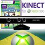 Sensor Kinect Para Xbox 360 Todos Modelo Xbox360 Novo + Jogo