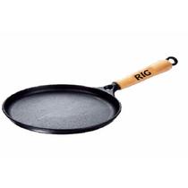 Tapioqueira De Ferro,chapa Bifeteira Redonda 19 Cm P/cozinha