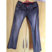 Calça Ellus Jeans Black.. Linda Linda (brechó Da Ana)