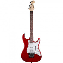 Guitarra Memphis Mg-37fl Mr Strato Floyd Vermelha - Refinado