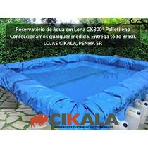 Lona Lago Tanque Criação Peixe Manta Impermeável Rede 8x10m