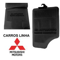 Tapete Borracha Mitsubishi_pick-up L200 (gl - Triton) - 4pçs