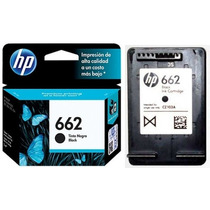 Kit Cartuchos Hp 662 Preto/tricolor