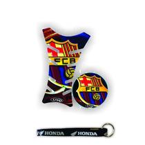 Adesivos Protetor Tanque E Bocal Barcelona + Frete Gratis