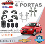 Kit Vidro Elétrico Sensorizado Celta 2008 Para As 4 Portas