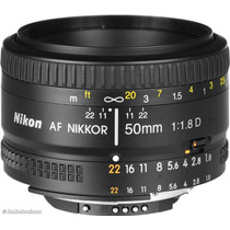 Lente Nikon 50mm F1.8 Auto-foco Pronta Entrega Nikkor F/1.8d