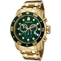 Relógio Invicta 0075 Ouro 18k Pro Drive ! P/entrega!!