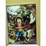 Caderno De Anime One Picece Novo- 10 Materias - 200 Folhas