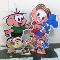 7 Display De Chão E Mesa Turma Da Monica E Cebolinha Totem
