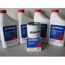 Oleo 20w50 Acdelco +filtro De Oleo Original Gm