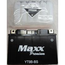Bateria Maxx Yt9b-bs Yamaha 750 / Xt660 / Yzfr6 / Mt03