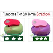 Furador Scrapbook Artesanato Flor 5/8 16mm Papel Eva Foto