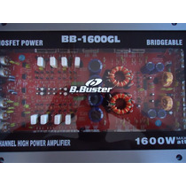 Módulo Amplificador B.buster 1600gl 4ch 600rms Frete Gratis