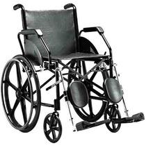 Cadeira De Rodas, Aço 45cm 1016 C/ Pé Articulado Jaguaribe
