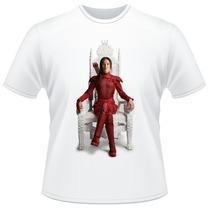 Camiseta Jogos Vorazes A Esperança Parte 2 Filme Camisa