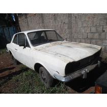 Ford Corcel Gt 1971 Com Painel Original Muito Boa Estrutura