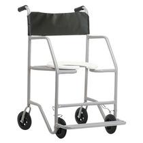 Cadeira De Rodas Para Banho, Sanitária Até 130kg - Jaguaribe